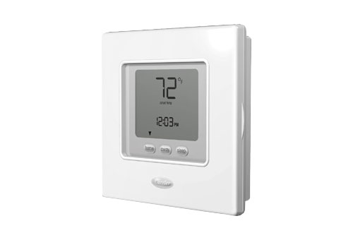 Install Carrier Programmable Thermostat