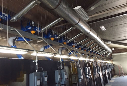 Mechanical Contractor Oxnard Ventura Ca Commercial Boilers Exhaust Fans Ductwork Ventilation