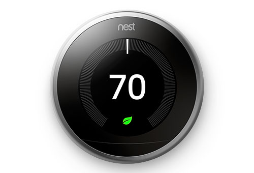 Nest Round Digital Thermostats